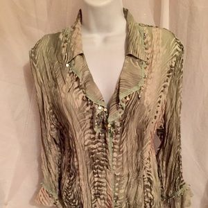 New Sequins & Jewels Blouse